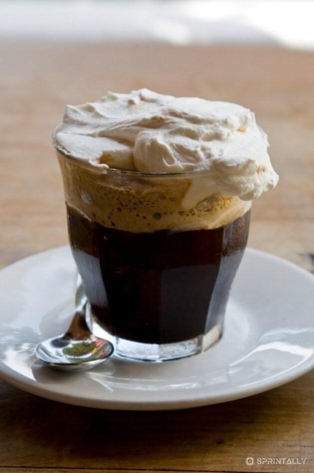 Cold Irish Coffee