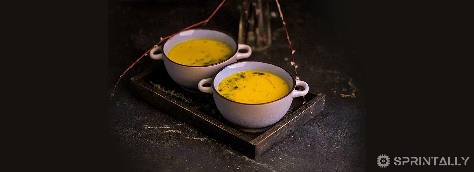 Pumpkin Cream Soup With Cheese