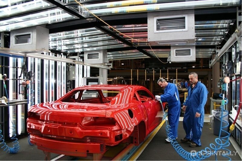 The General Motors Plant In Oshawa