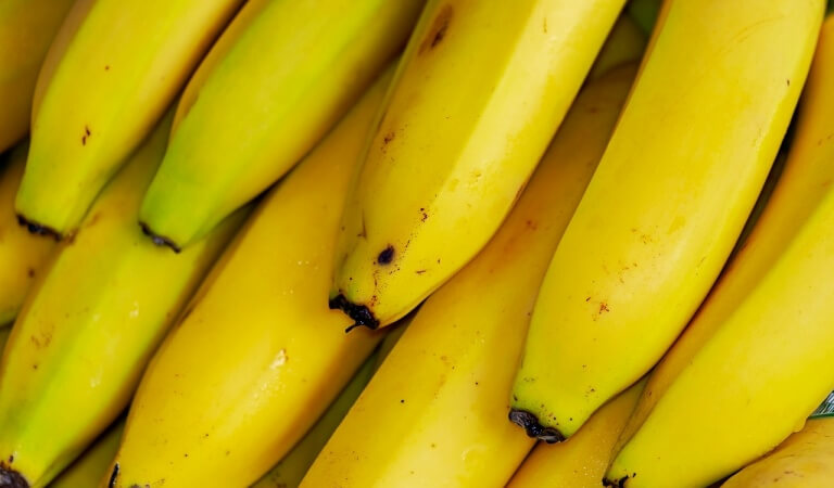 Composition and useful properties of the bananas