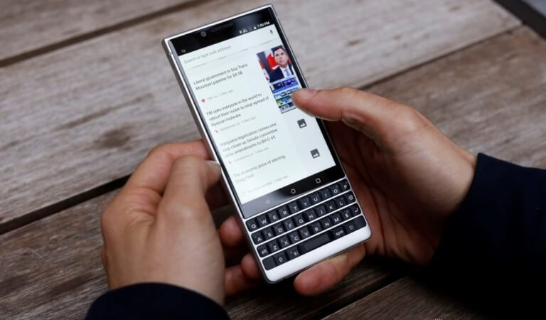 Review of BlackBerry KeyTwo
