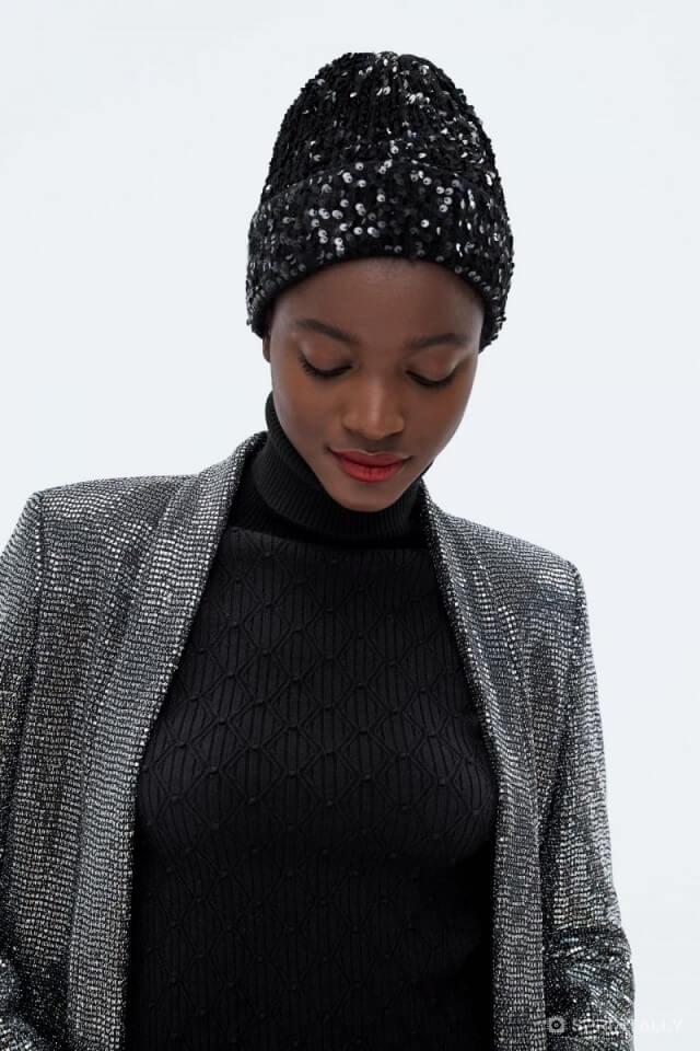 Knitted Hat Petko, Zara