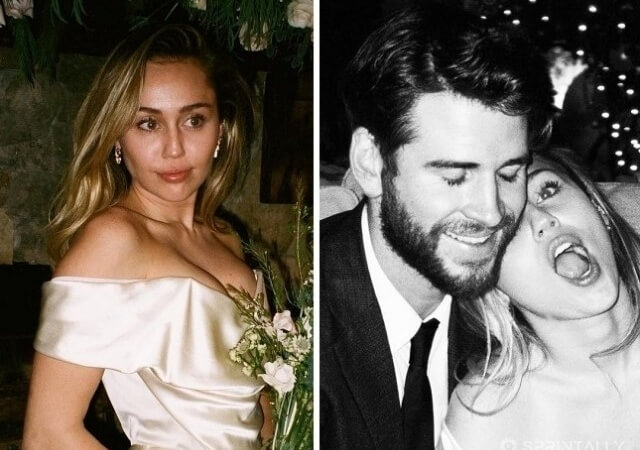 Miley Cyrus confessed to her husband in love and shared a new wedding photo