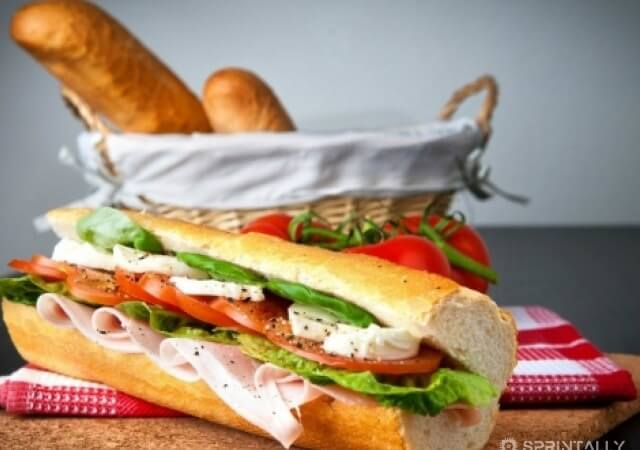 Sandwich: top 5 variants of the original sandwich