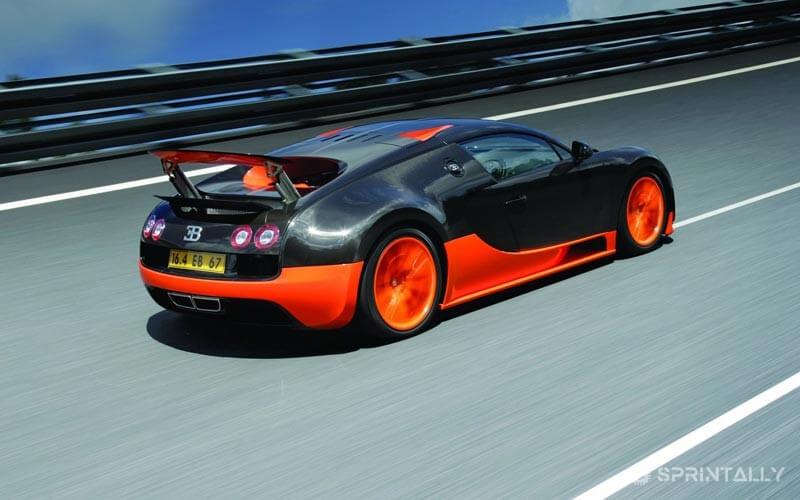 Bugatti Veyron Super Sport - World Record Edition
