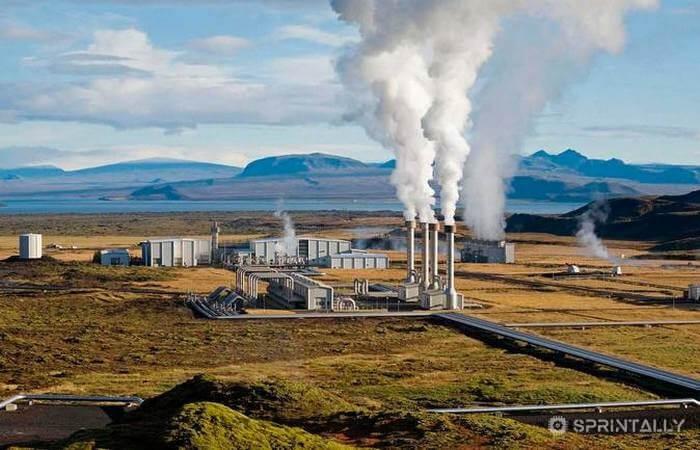 Geothermal Station Iceland