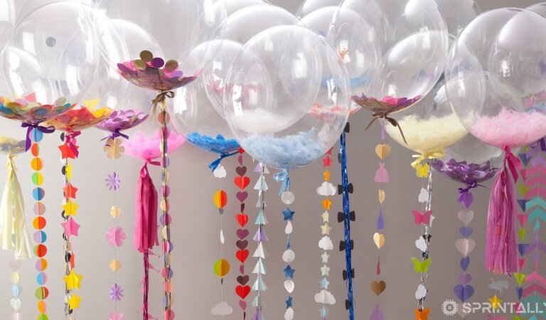 A few interesting facts about helium balloons