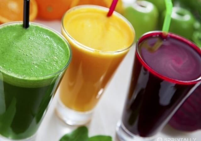 What healthy smoothies to drink in the spring?