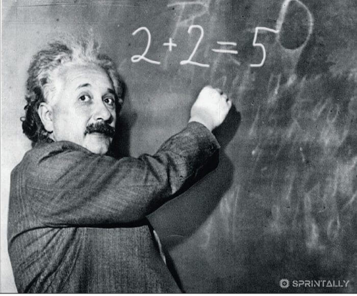 Albert Einstein Was A Poor Student In Mathematics And Is Generally Poorly Studied