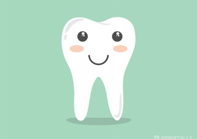White as pearls: care of teeth and gums