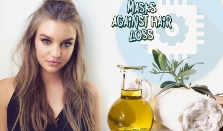 5 best recipes masks against hair loss at home