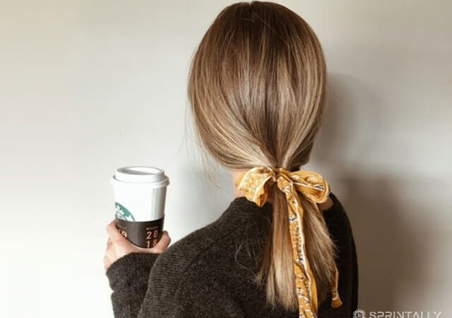How to use scarf in hair: the most interesting options