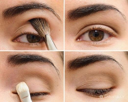 Long and thick eyelashes lumps