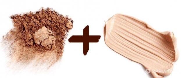 Powder And Foundation