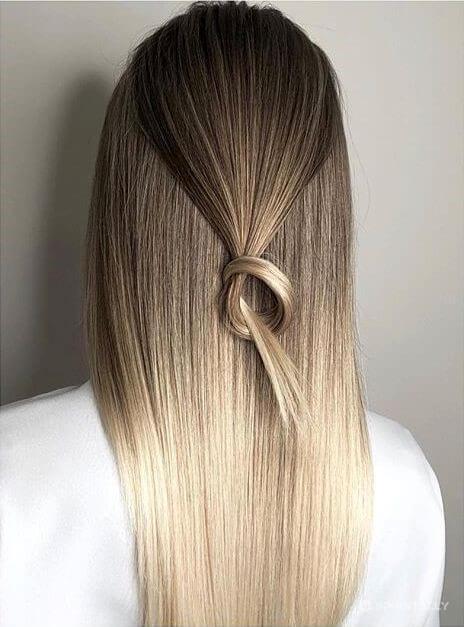 Straight Cut On The Hair