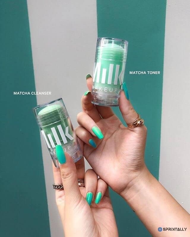 Tonic-Stick With Matcha Milk Makeup