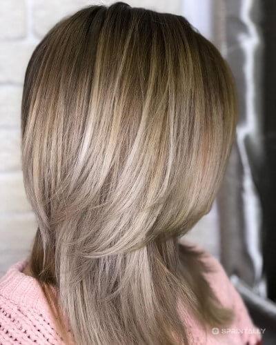 Trendy Haircut Ladder