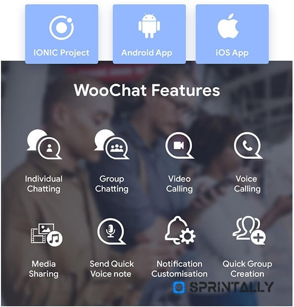 Woochat Features