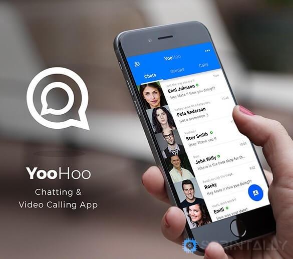 Yoohoo Android Chatting App
