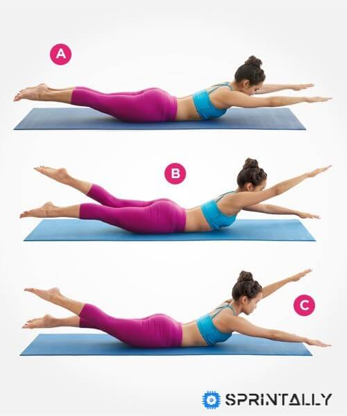 Exercise For The Press &Quot;Swimming&Quot;