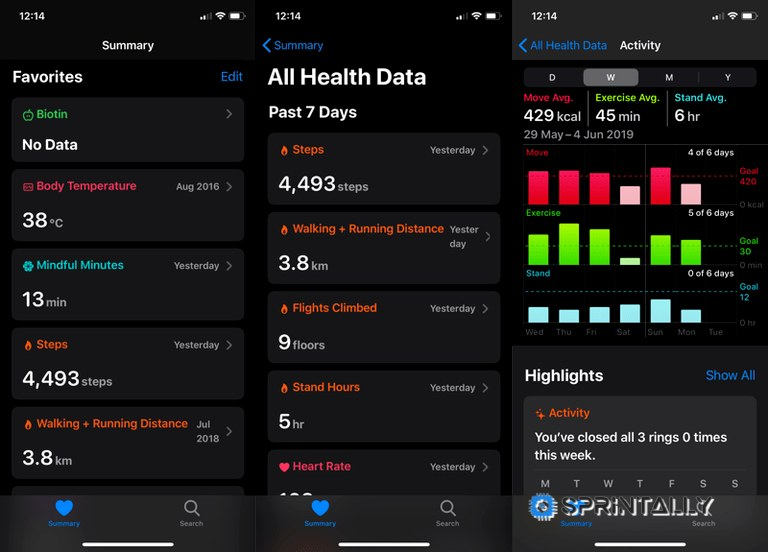 New Health App Design