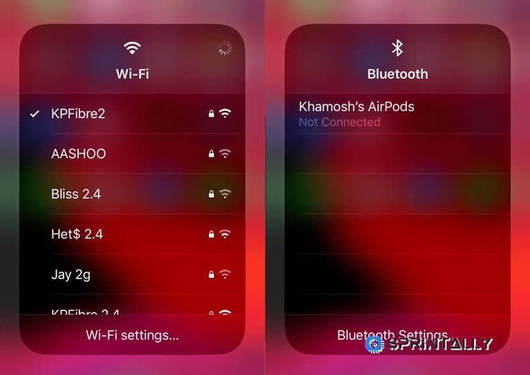 The Choice Of Wi–Fi And Bluetooth In The Control