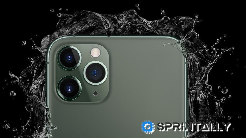 Iphone 11 Pro From Dust And Water Without Surprises
