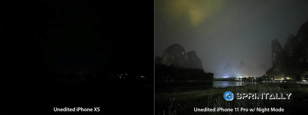 Iphone 11 Night Mode Compare