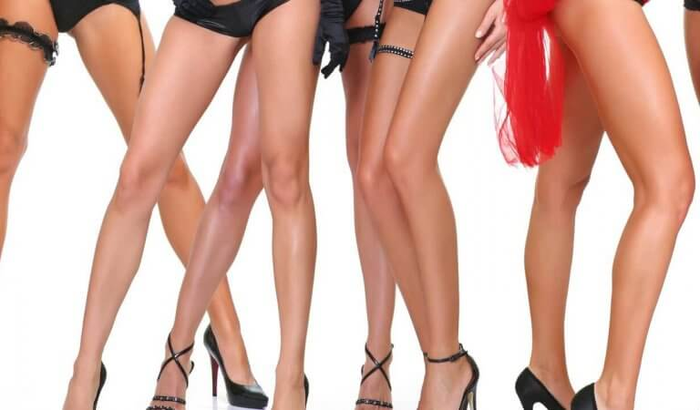 The most beautiful legs in the world: 20 celebrity photos