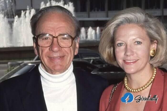 Rupert Murdoch And Anna Torv