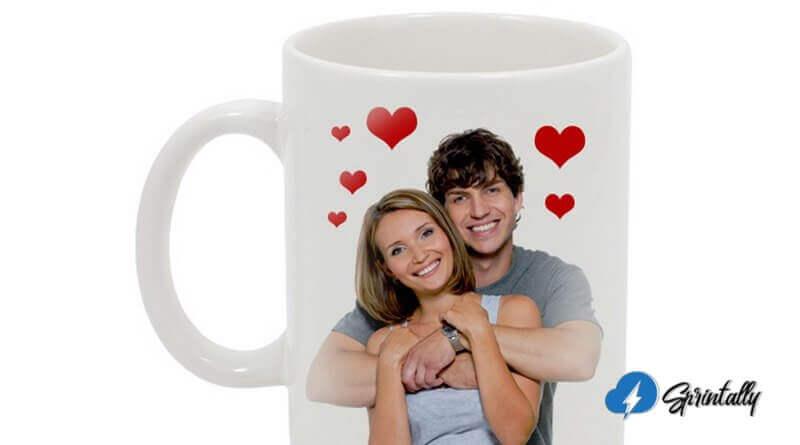 Coffee mug with printing
