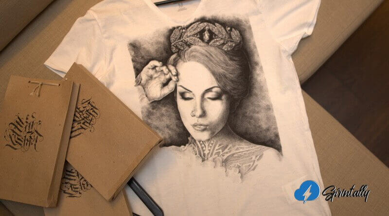 T-shirt with her photo