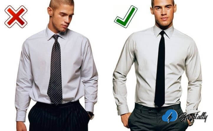 Compare these two shirts