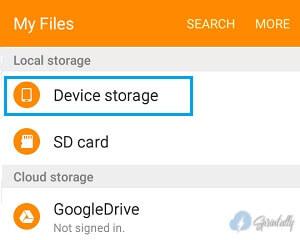 Device Storage