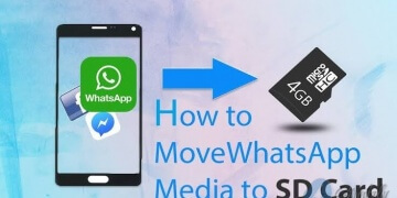 WhatsApp Photos to SD Card