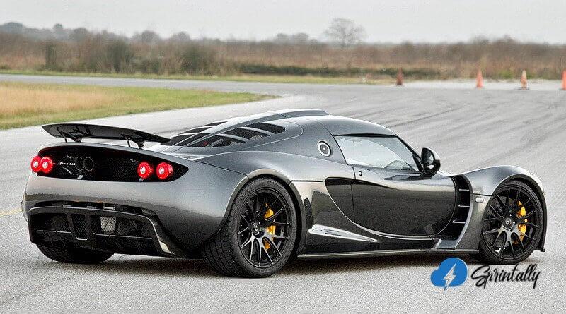 Sports Car Hennessey Venom Gt