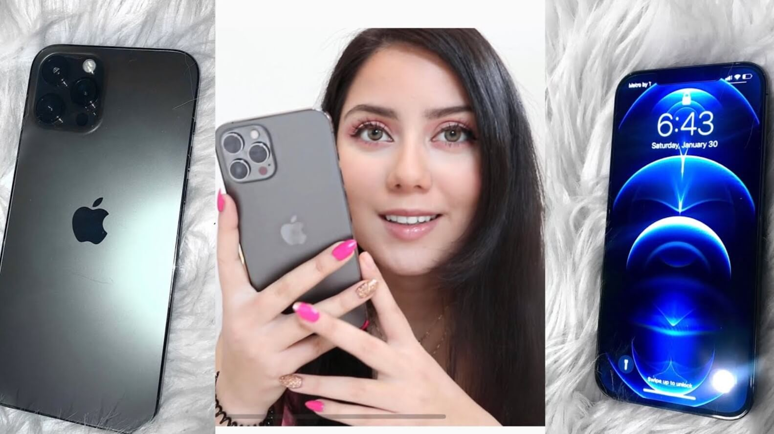 Iphone 12 Pro Max With Girl