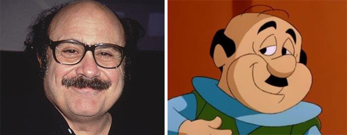 Danny Devito Look Like Mr. With Paisley From The Cartoon The Jetsons