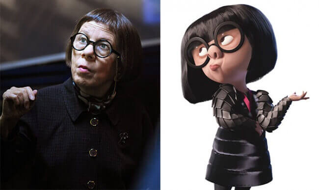 Edna Mode From The Incredibles