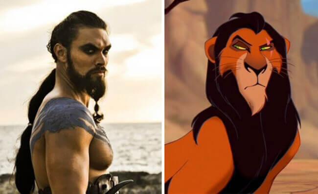 Khal Drogo Vs. Scar From The Lion King