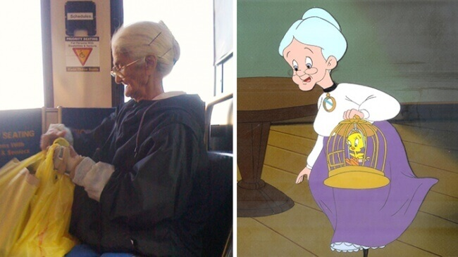 Real Grandma From &Quot;Looney Tunes&Quot;