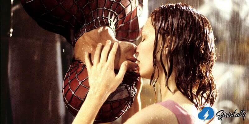 Spiderman Kiss