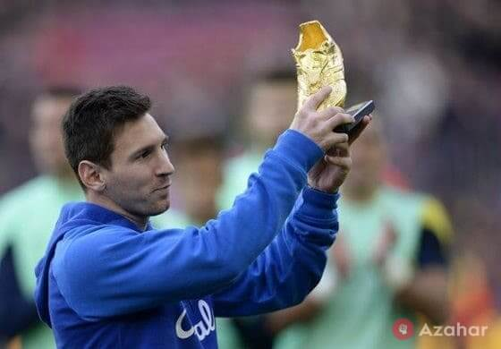 Gold Boot Of Leo Messi