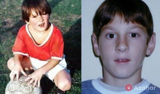 Lionel Messi In His Childhood