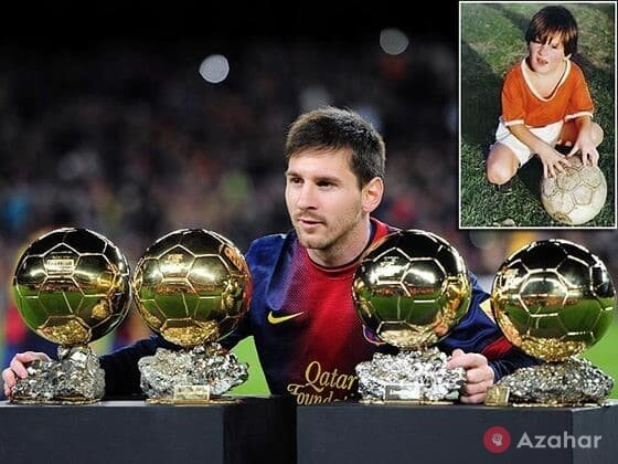 Lionel Messi Received The Golden Ball Four Times In A Row