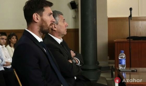Messi And His Father In Court