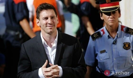 Messi Escaped From Prison
