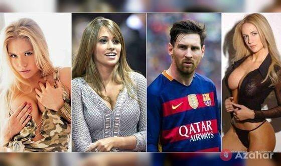 Messi Met With Luxury Models