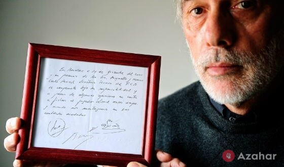 The First Contract With Messi Barcelona
