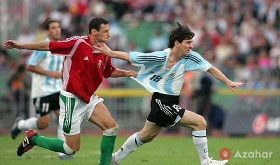 The First Match Messi In The National Team Of Argentina Was Unsuccessful
